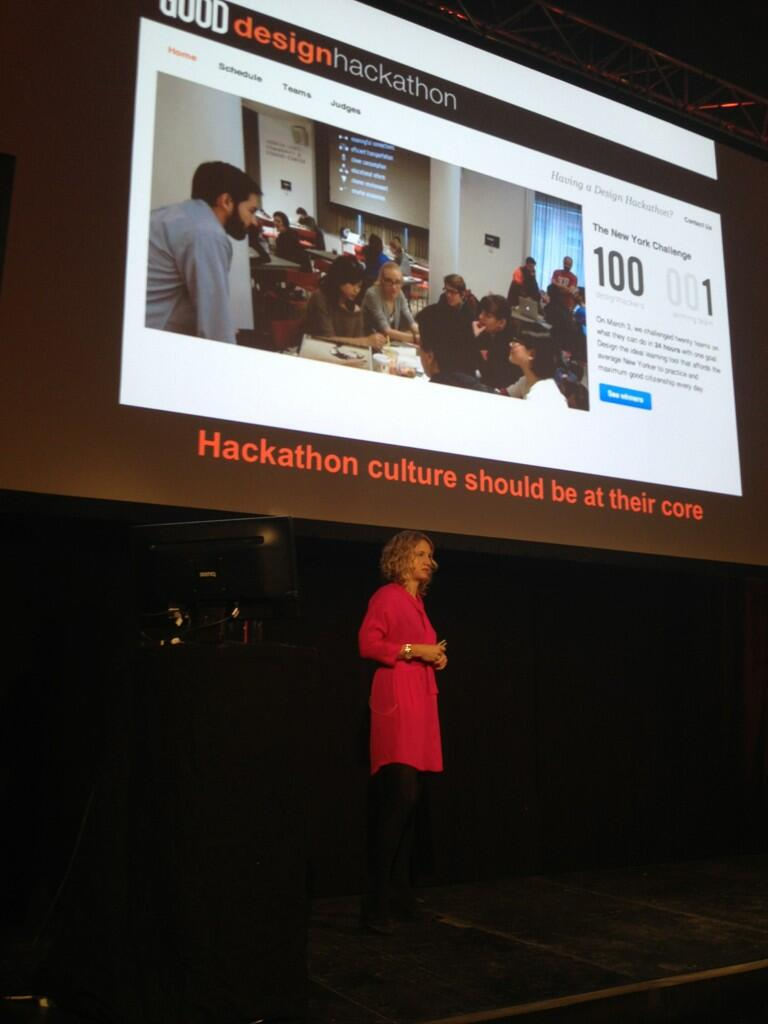Twitter / RicDragon: Hackathon culture should be ...