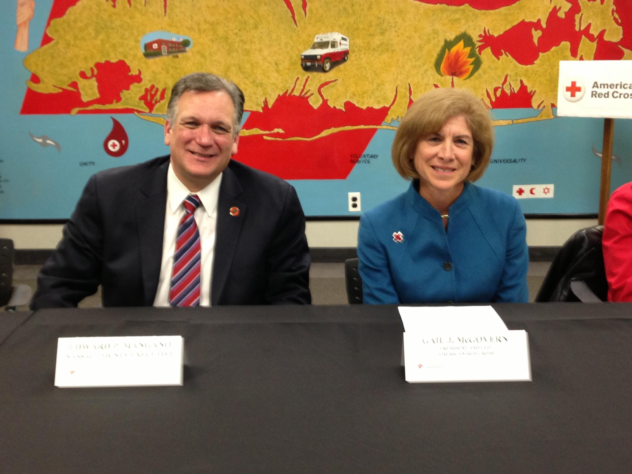 Twitter / edmangano: Meeting with American Red Cross ...