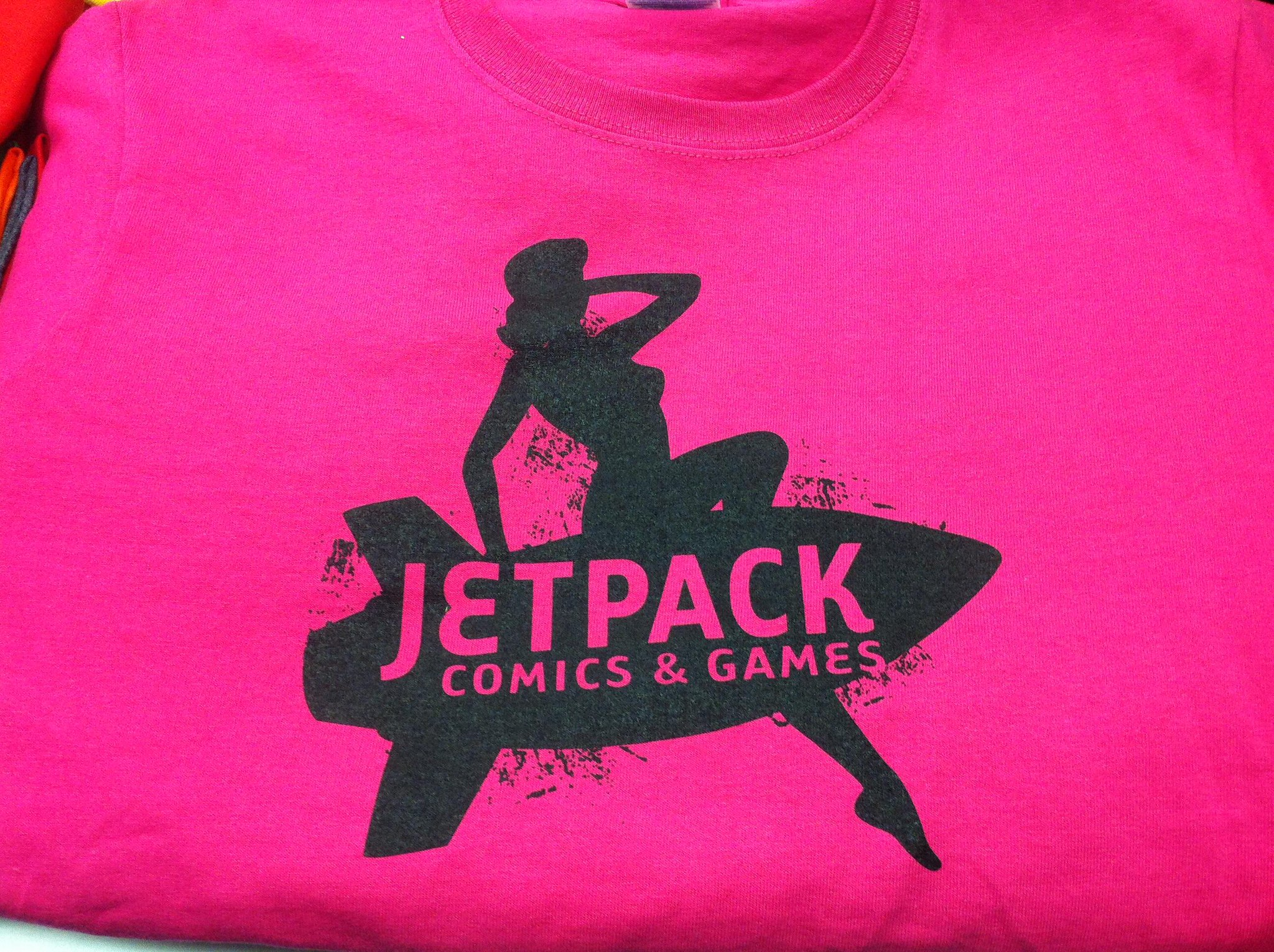 Twitter / JetpackComics: The Jetpack Womens Tee has ...