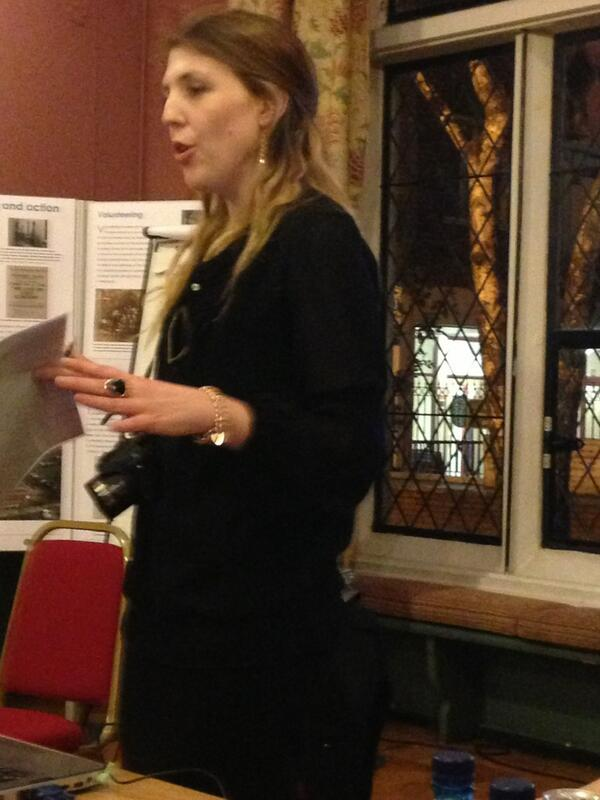 Rebecca from @Safe_Exit: the service is in a time of uncertainty, funding not confirmed #ForgottenWomen http://t.co/iDF0JG2TDL