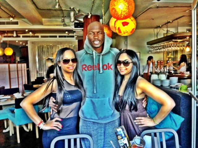 Twitter / ochocinco: Early lunch by the two's ...