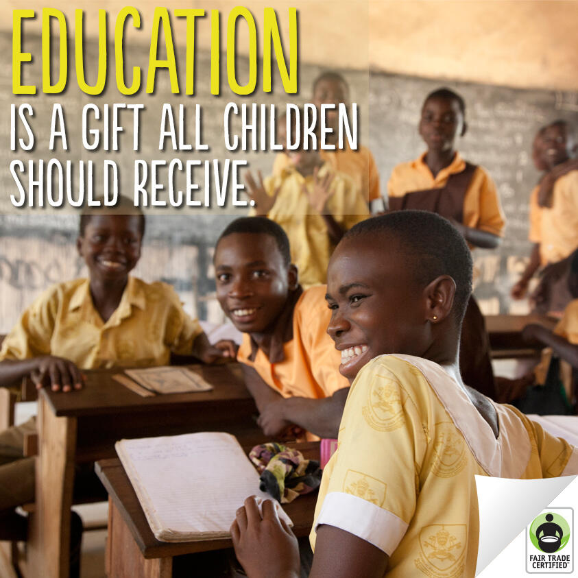 Twitter / FairTradeUSA: #FairTrade helps ensure children ...