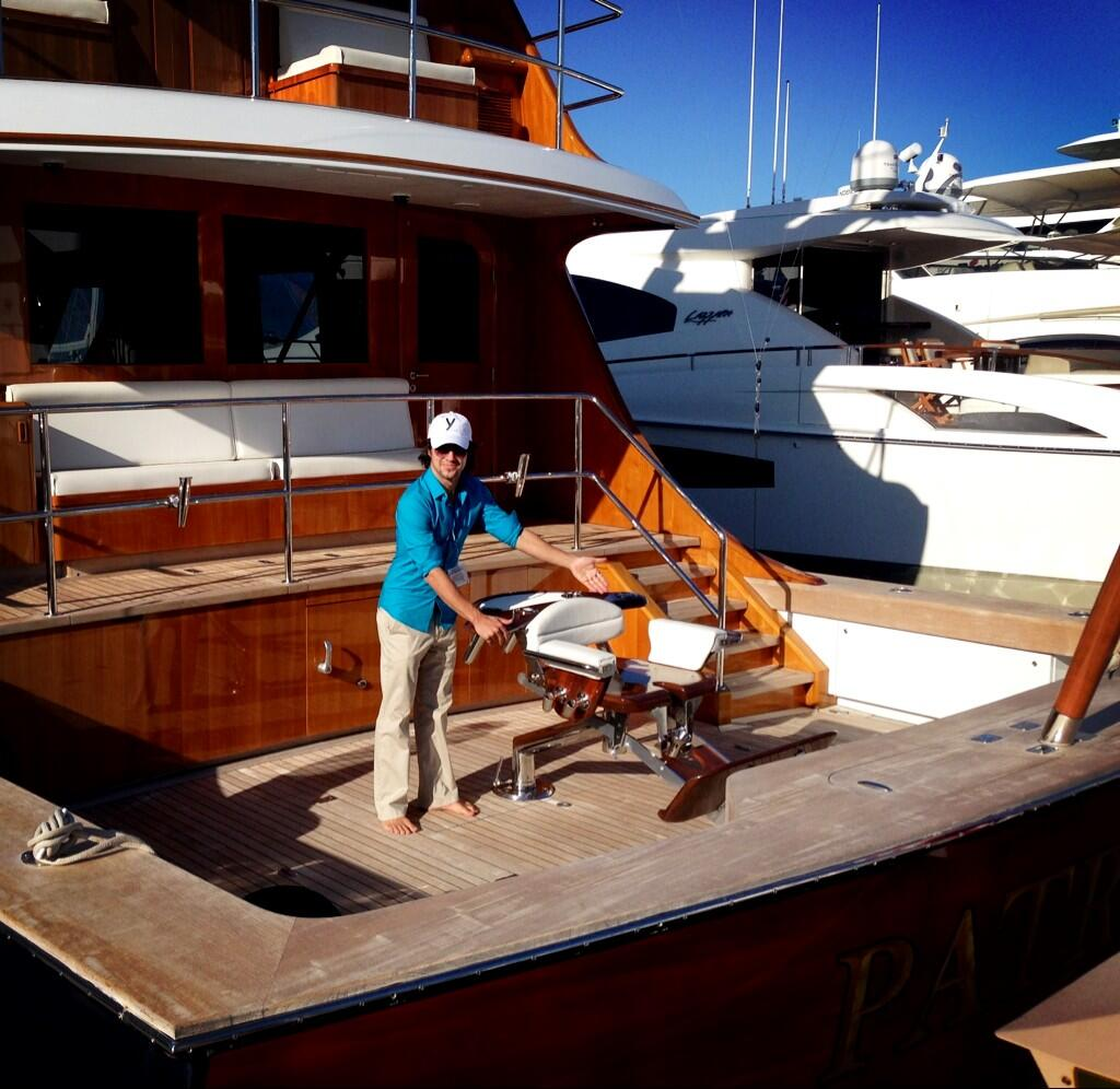 Twitter / gegere: Exploring the yacht show while ...