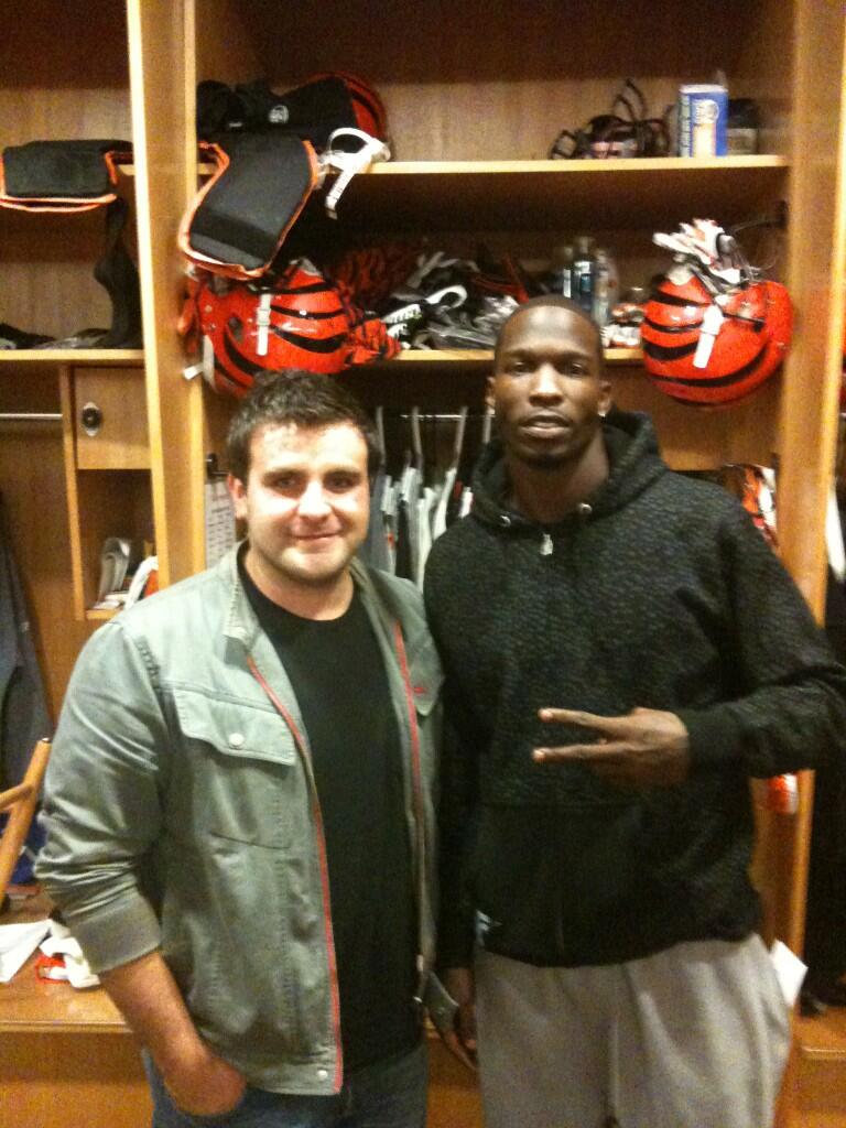 Twitter / mlozano9: @ochocinco #tbt boy, we look ...