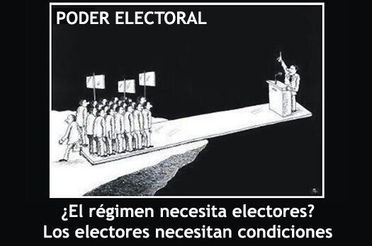 Twitter / 1aclarate: ¿El régimen necesita electores? ...