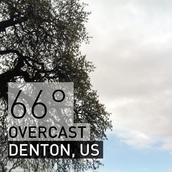 Denton Texas Weather (@DentonTxWeather) | Twitter