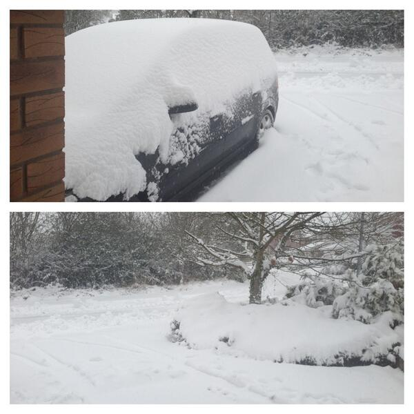 Still coming down thick and fast!! @Dee1063 @dailypostwales @leaderlive http://t.co/kFUSJqGSpA