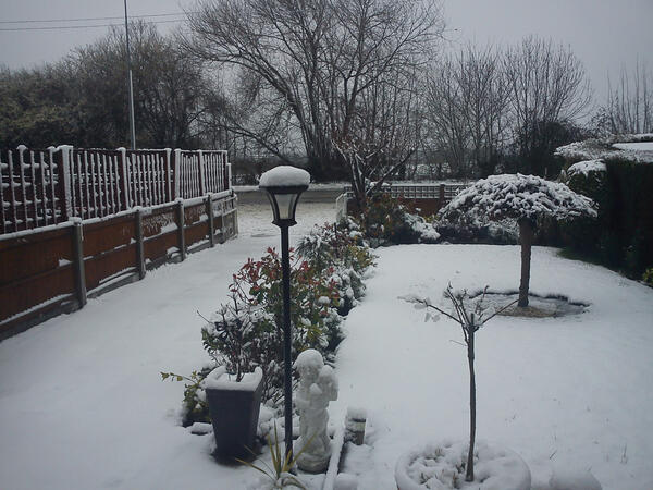@dailypostwales - View from my house A548 near Talacre this morning http://t.co/w5n8eRLU6C