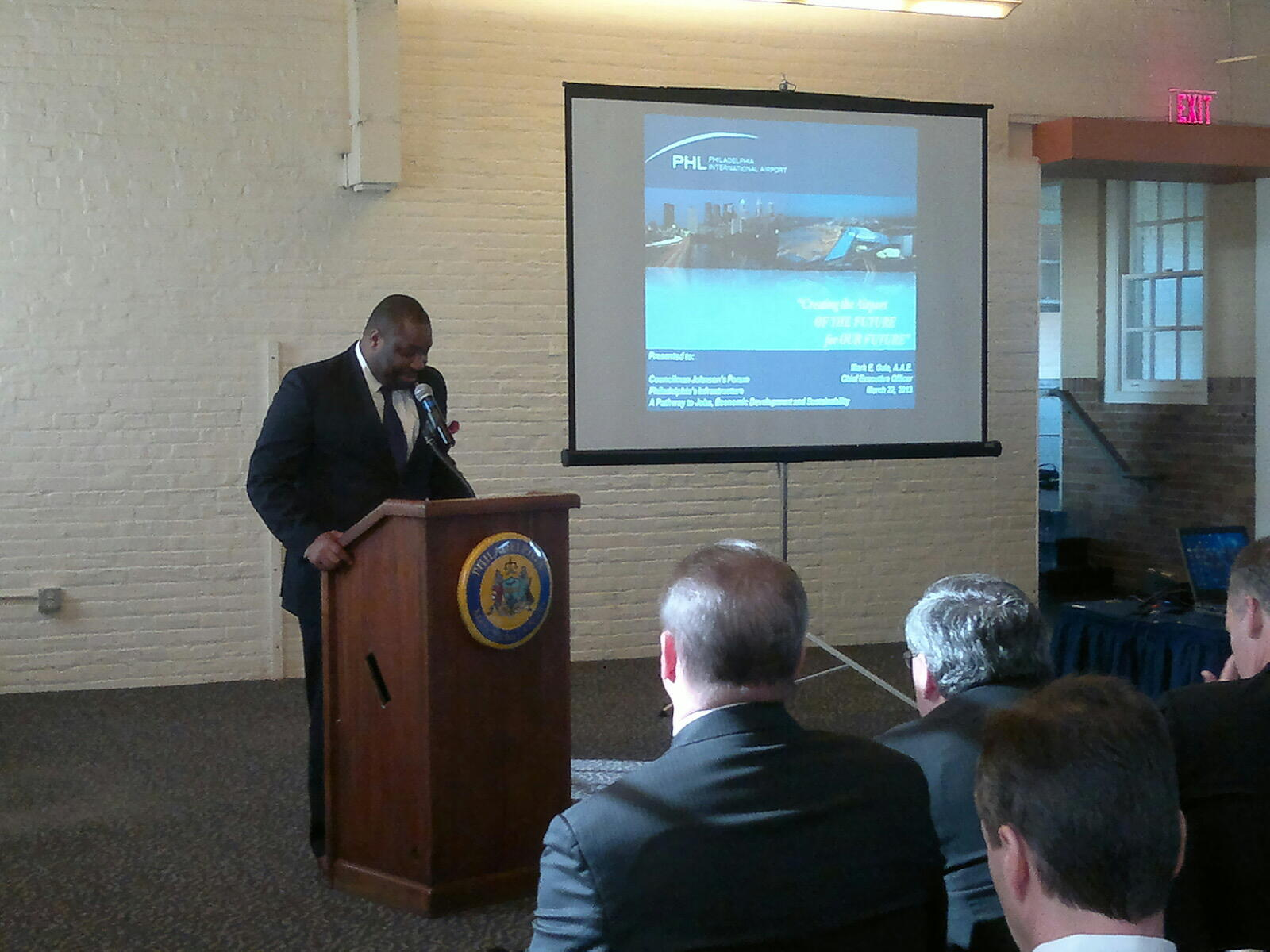 Twitter / CouncilmanKJ: Councilman welcomes guests ...