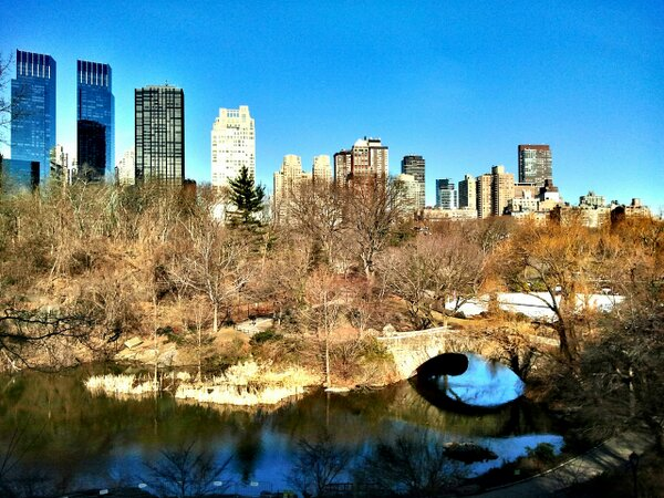 Twitter / gigi_nyc: The Pond @CentralParkNYC shining ...