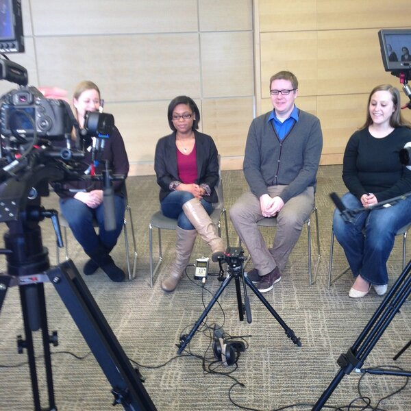 Twitter / WheelockCollege: Team Awesome is on camera for ...