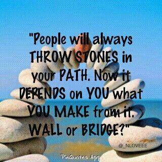 Live Life To Fullest On Twitter People Will Always Throw Stones In