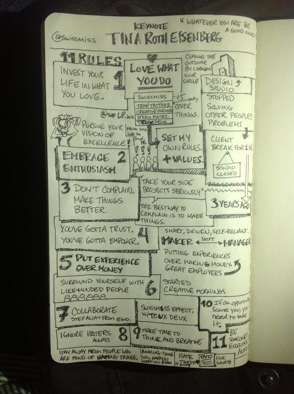 Twitter / pashamalla: Excellent SXSW Keynote: Tina ...