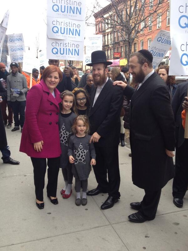 """Is this a endorsement from @YidelPerlstein  or just photo ?""""@Azi: .@Quinn4NY with Ezra Friedlander (right). #nyc2013 http://pic.twitter.com/90vK4mvrSS"""""""