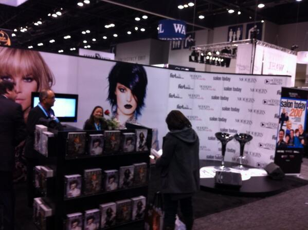I second that! A SIMPLY amazing show! RT @mulhernmaggie: @ModernSalon an amazing ABS in Chicago. Lovin Moderns booth. http://pic.twitter.com/vTL1zNykKM