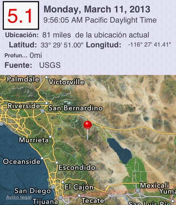 Terremoto de 5.1 en Southern California http://earthquake.usgs.gov/eqcenter/recenteqsus/Quakes/ci15296281.php http://pic.twitter.com/sYcftSRchd