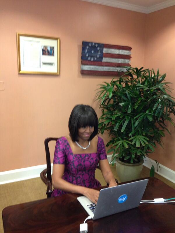 Thumbnail for #AskFLOTUS About Let's Move!