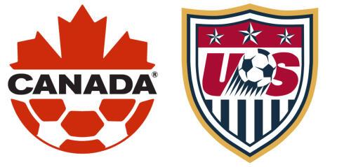 "Always With Honor on Twitter: ""Canadian Soccer logo vs. USA Soccer logo  #justsayin http://t.co/kFenxgXG6J"""