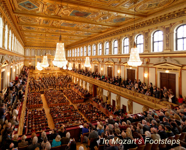Twitter / MusicalTravel: Photo: Musikverein in #Vienna ...
