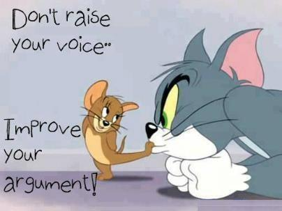 Twitter / JoyAndLife: Tom and Jerry wisdom! ...