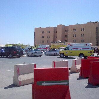 حريق جامعة الاميرة نوره صور