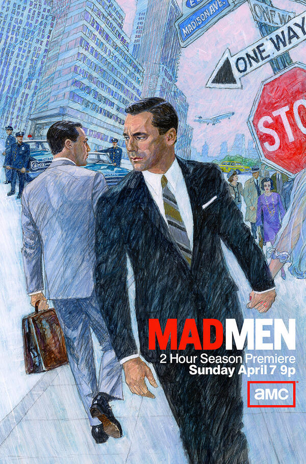 Twitter / JRQuestus: #MadMen hired a bona fide 1960's ...