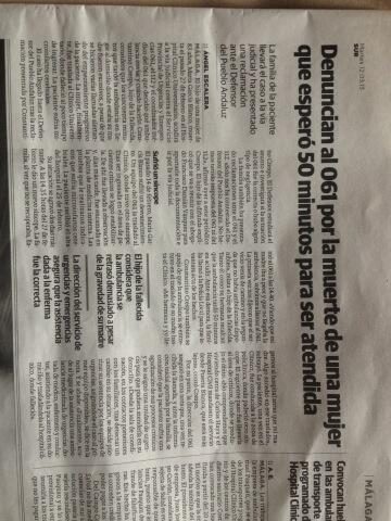 Twitter / abogados: Hoy en @diario_sur caso Vázquez ...