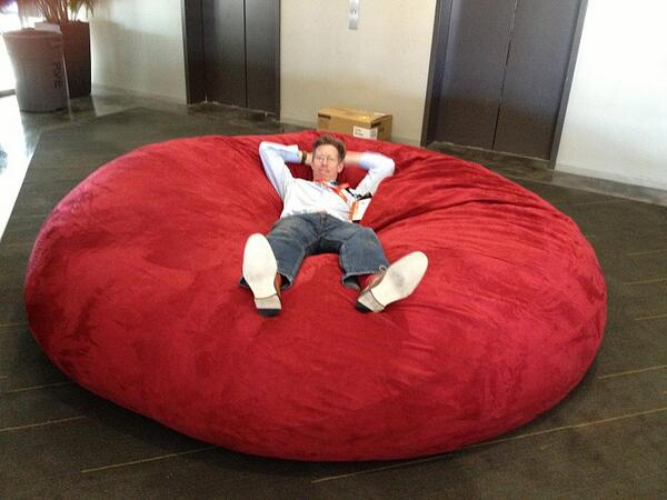 311536403186057216 together with Female  her Regions Couch Is as well 8 Foot Giant Foam Filled Bean Bag like Lovesac additionally 221295453295 likewise List Top 10 Best Bean Bag Chairs For Adult In 2015 Reviews. on giant bean bag chair