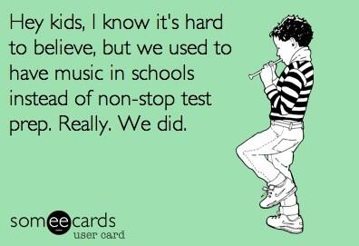 Twitter / StevenSinger3: Hey kids, we used to have music, ...