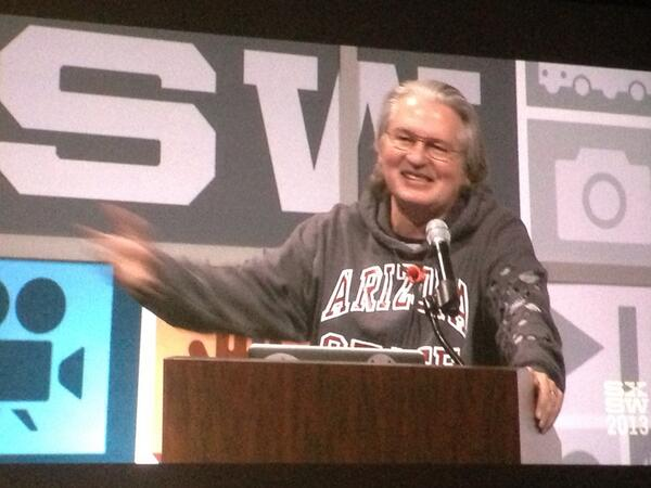 Thumbnail for Bruce Sterling at SXSW 2013