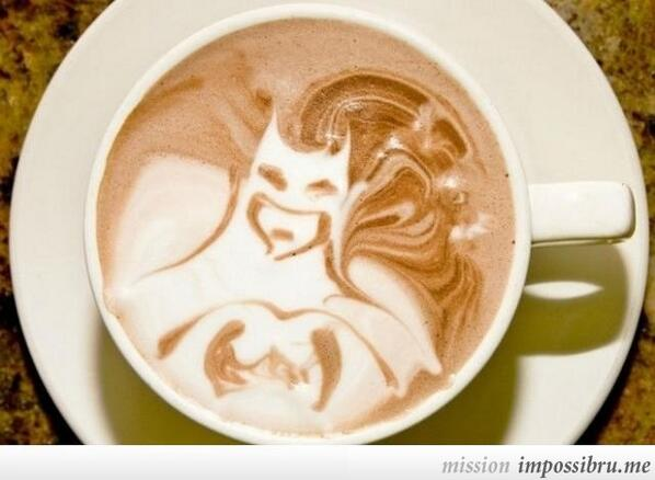 Twitter / OfficeBatman: I like my coffee like I like ...