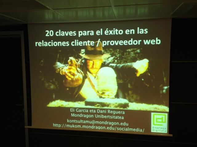Relaciones entre cliente y proveedor web