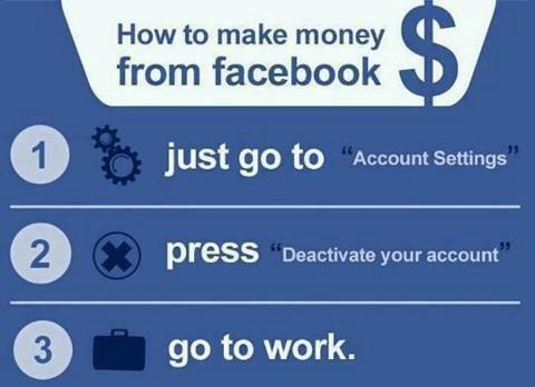 Twitter / JoyAndLife: How to make money from Facebook. ...