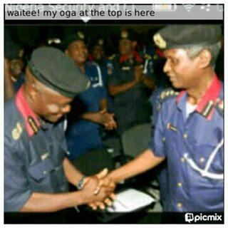 Twitter / azubona: NSCDC Lagos Commandment receiving ...