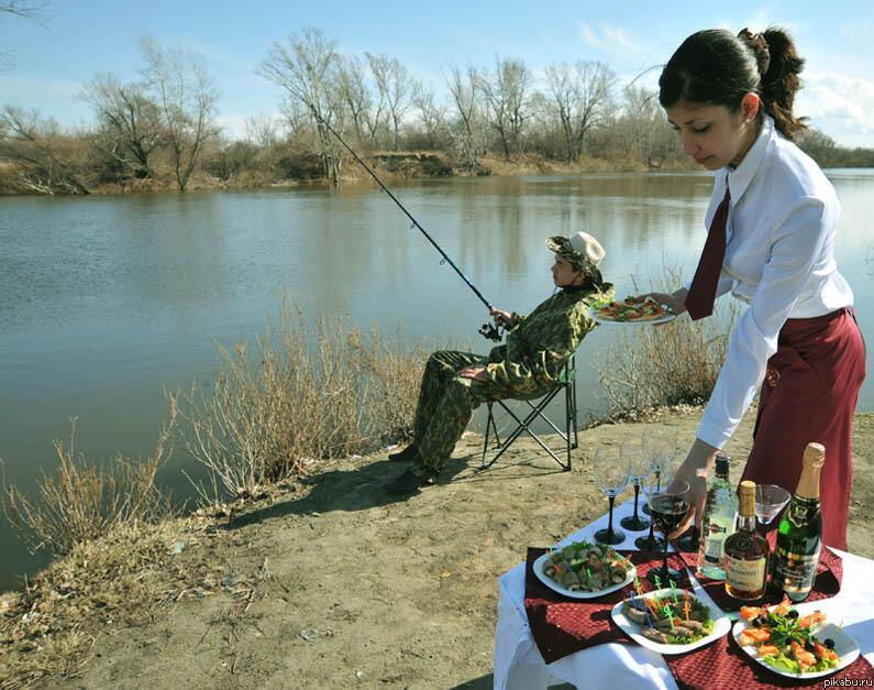Прикольные фото для рыбака, февраля своими руками