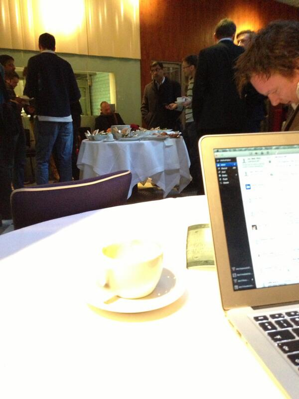 Twitter / dan_hopwood: Set up office in @boundaryrooftop ...