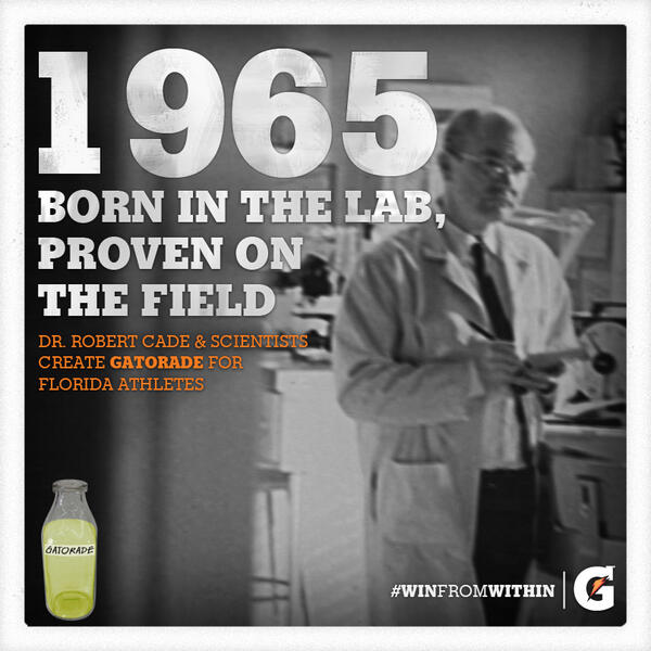 Twitter / Gatorade: 1965: When University of Florida ...