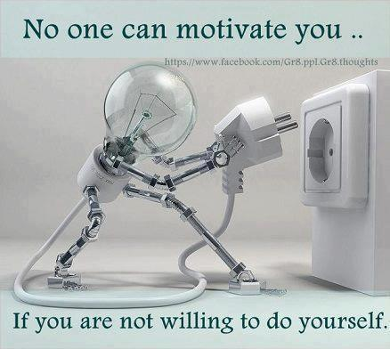 Twitter / JoyAndLife: Motivation comes from within, ...