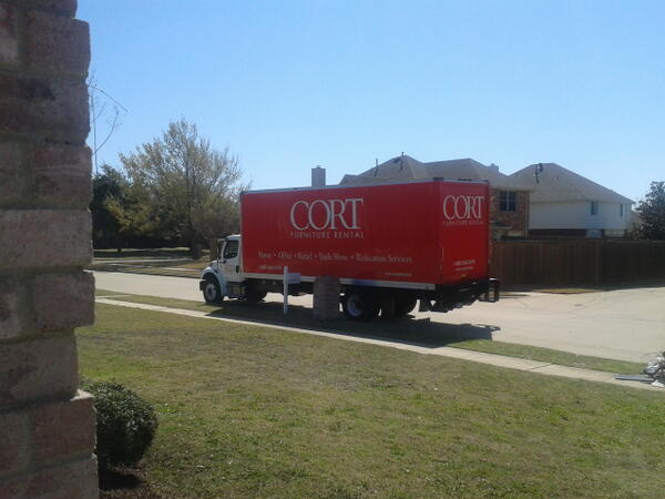 Twitter / homestarstaging: @CORTFurniture always delivers! ...