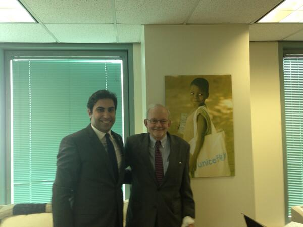 Twitter / AhmadAlhendawi: Productive meeting with @UNICEF ...