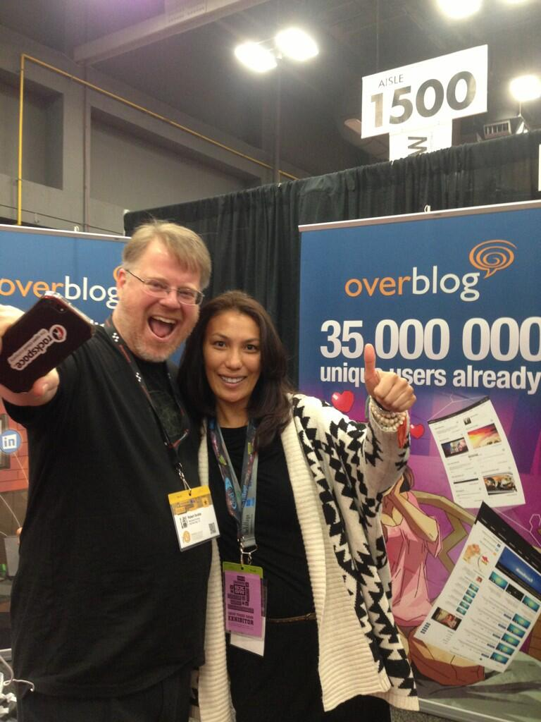 Twitter / merrybubbles: Thanks @scobleizer for saying ...