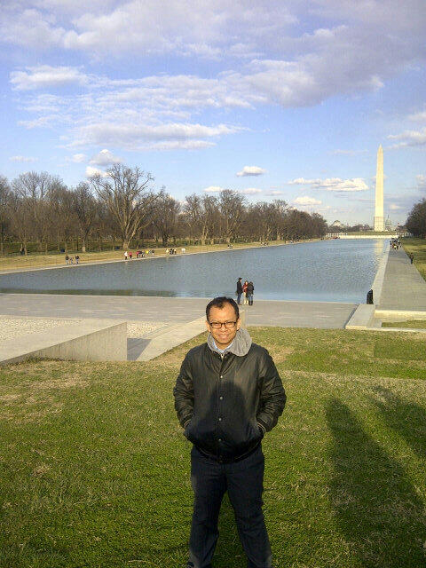 Twitter / asyafa: At Washington Monument ...