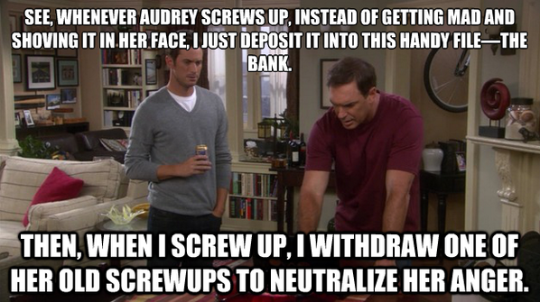 """Jeff Rules Of Engagement Quotes: Jeff Bingham On Twitter: """"""""@RuleToLiveBy The Bank, Defined"""