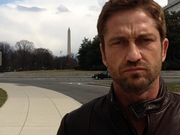 Twitter / GerardButler: Checked out the Washington ...