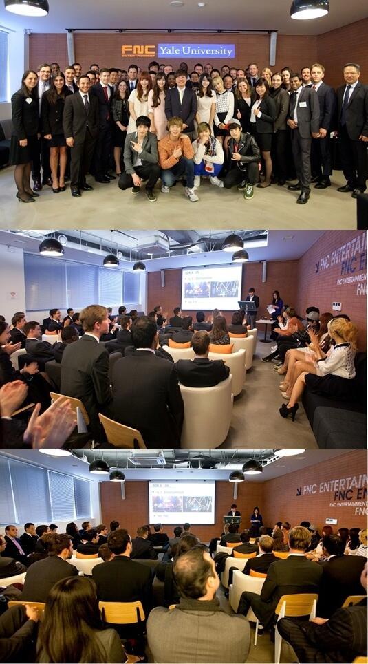 CN Blue -Yale �niversitesi MBA ��rencilerinden FNC�ye Ziyaret ! ///14.03.2013