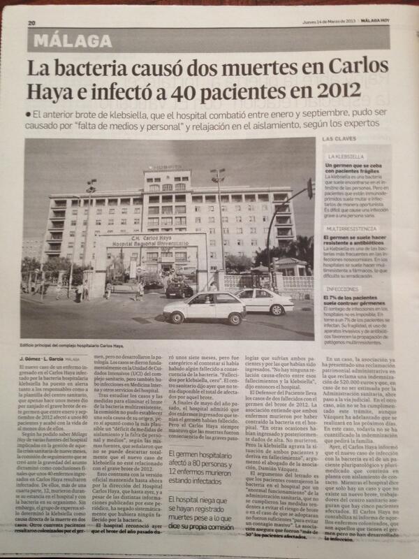 Twitter / abogados: Pacientes afectados contagio ...
