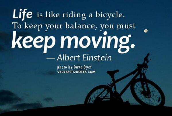 Life is like riding a bycycle... | #BikeToWorkDay #FridayFeeling #Startup #MakeYourOwnLane #defstar5 #Mpgvip #Quotes<br>http://pic.twitter.com/TvlSOAHygZ