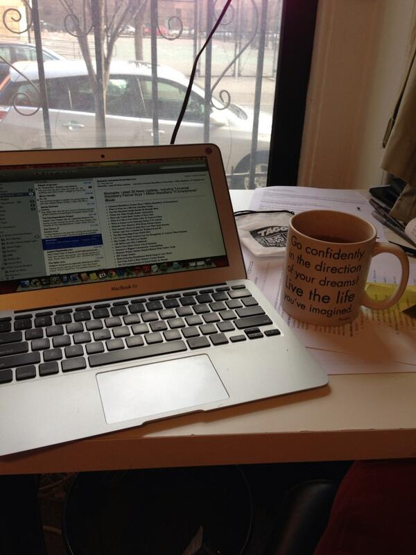 Time to think about tacking the inbox! Got my fave mug w. green tea #inspireme http://pic.twitter.com/Pp6iS8RMY2