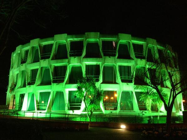 Twitter / usembassydublin: U.S. Embassy Dublin goes green ...