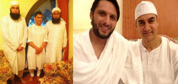 "Junaid Jamshed on Twitter: ""With @Aamir_Khan and Maulana Tariq ..."